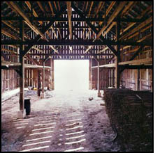 empty barn
