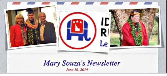 06-16-2014 Souza Newsletter - Historic Convention