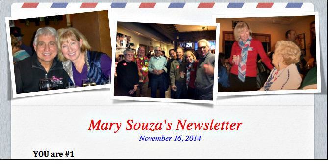 11-16-2014 Souza's newsletter