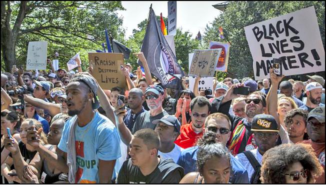 BLM-Antifa Charlottesville