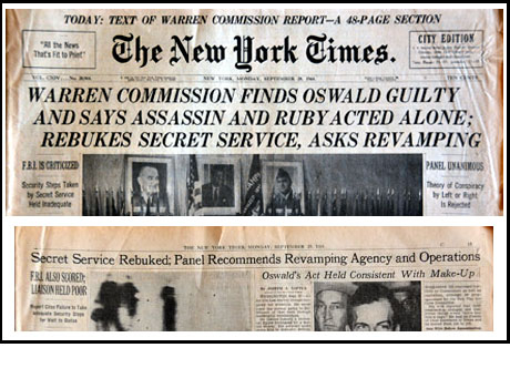 Warren Commission Composite NYT