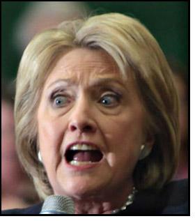 Hillary in Shock